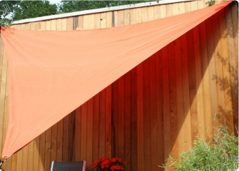 Voile triangulaire 3.60m - Terracota